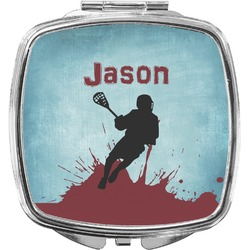 Lacrosse Compact Makeup Mirror (Personalized)