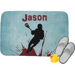 Lacrosse Memory Foam Bath Mat (Personalized)