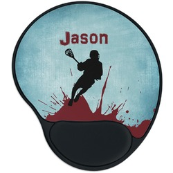 Lacrosse Mouse Pad with Wrist Support