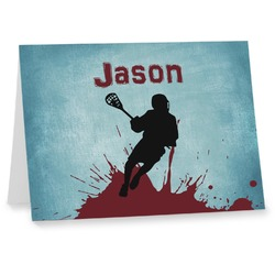Lacrosse Notecards (Personalized)