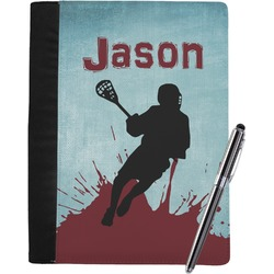 Lacrosse Notebook Padfolio (Personalized)