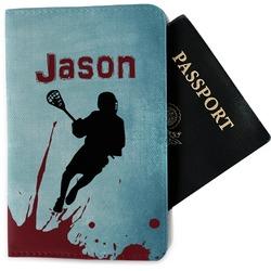 Lacrosse Passport Holder - Fabric (Personalized)