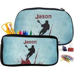 Lacrosse Pencil / School Supplies Bag (Personalized)