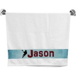 Lacrosse Bath Towel (Personalized)