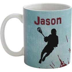 Lacrosse Coffee Mug (Personalized)