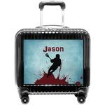 Lacrosse Pilot / Flight Suitcase (Personalized)