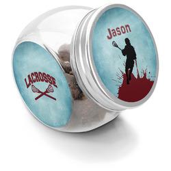 Lacrosse Puppy Treat Jar (Personalized)
