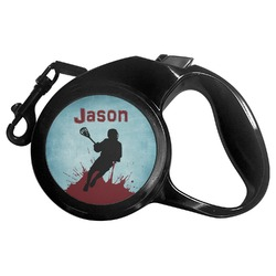 Lacrosse Retractable Dog Leash - Multiple Sizes (Personalized)