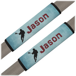 Lacrosse Seat Belt Covers (Set of 2) (Personalized)
