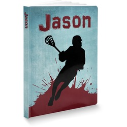 Lacrosse Softbound Notebook (Personalized)