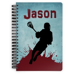 Lacrosse Spiral Notebook (Personalized)