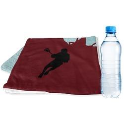 Lacrosse Sports Towel (Personalized)