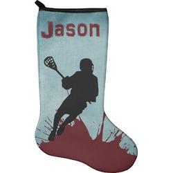 Lacrosse Holiday Stocking - Neoprene (Personalized)
