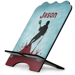 Lacrosse Stylized Tablet Stand (Personalized)