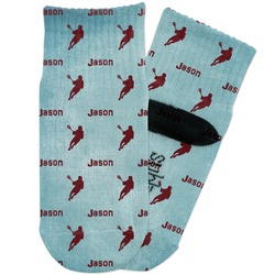 Lacrosse Toddler Ankle Socks (Personalized)