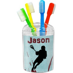 Lacrosse Toothbrush Holder (Personalized)