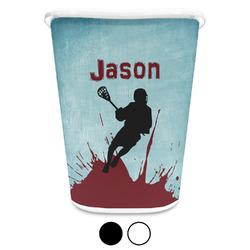 Lacrosse Waste Basket (Personalized)