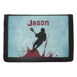 Lacrosse Trifold Wallet (Personalized)