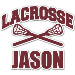 Lacrosse Graphic Decal - Custom Sizes (Personalized)