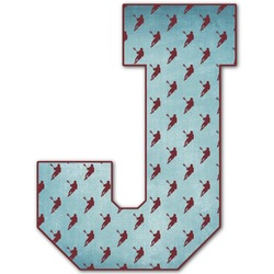 Lacrosse Letter Decal - Custom Sized (Personalized)