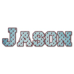 Lacrosse Name/Text Decal - Large (Personalized)