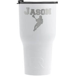 Lacrosse RTIC Tumbler - White (Personalized)