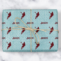 Lacrosse Wrapping Paper (Personalized)