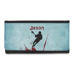 Lacrosse Leatherette Ladies Wallet (Personalized)