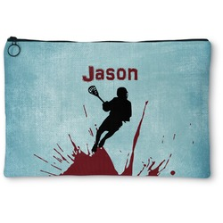 Lacrosse Zipper Pouch (Personalized)