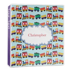 Trains 3-Ring Binder - 1 inch (Personalized)