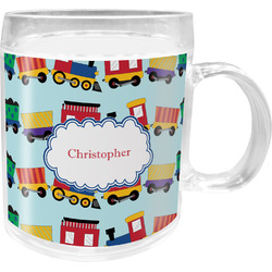 Trains Acrylic Kids Mug (Personalized)
