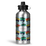 Trains Water Bottle - Aluminum - 20 oz (Personalized)
