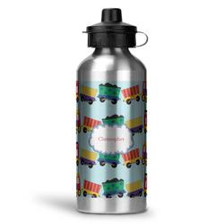 Trains Water Bottle - Aluminum - 20 oz (Personalized)