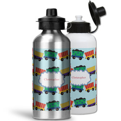Trains Water Bottles- Aluminum (Personalized)