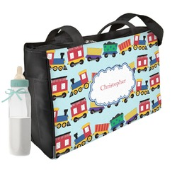 Trains Diaper Bag (Personalized)