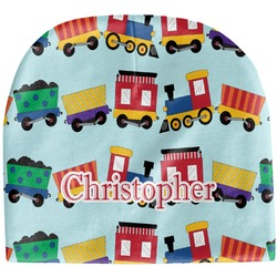 Trains Baby Hat (Beanie) (Personalized)