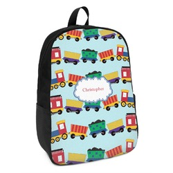 Trains Kids Backpack (Personalized)
