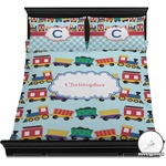 Trains Duvet Cover Set (Personalized)