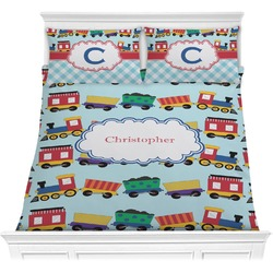 Trains Comforter Set (Personalized)
