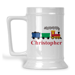 Trains Beer Stein (Personalized)