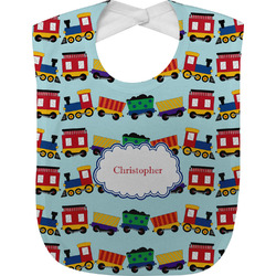 Trains Baby Bib (Personalized)