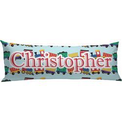Trains Body Pillow Case (Personalized)
