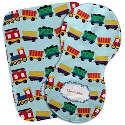 Trains Burp Cloth (Personalized)