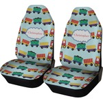 Trains Car Seat Covers (Set of Two) (Personalized)