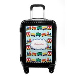 Trains Carry On Hard Shell Suitcase (Personalized)