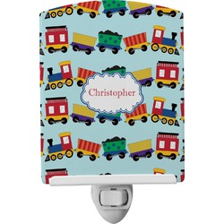 Trains Ceramic Night Light (Personalized)