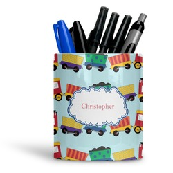 Trains Ceramic Pen Holder