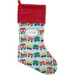 Trains Christmas Stocking (Personalized)