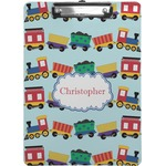 Trains Clipboard (Personalized)