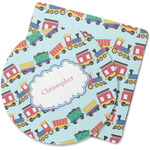 Trains Rubber Backed Coaster (Personalized)